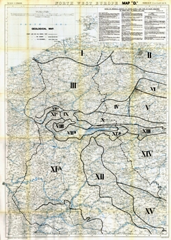 Map Of Northern France Belgium.The Geological Society
