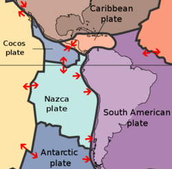 South American plates (copyright US Geological Survey)