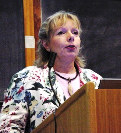 Dr Gabi Schneider, Director of the Geological Survey of Namibia