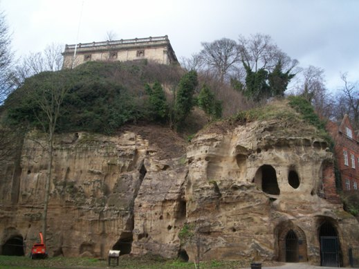 The Nottingham Castle Sandstone in its type locality