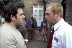 Do they look like zombies to you?. Still from Shaun of the Dead