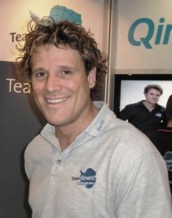 Mr James Cracknell. Photo by Jo Mears. Drooling by everybody.