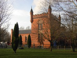 The Bratch pumping station, built in Victorian gothic by Bilston Corporation, 1895 Credit: © Friends of The Bratch