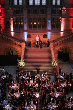 2009 Petroleum Group Dinner, NHM London, where the prizes from the 2008 PGRF were awarded