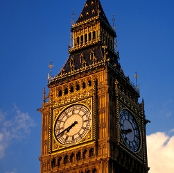 The Clock Tower of the Palace of Westminster