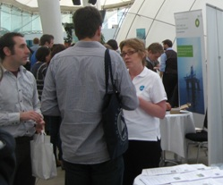 In February 2011 over 200 students from across northern Britain gathered at Our Dynamic Earth in Edinburgh for a one-day conference to explore career opportunities.