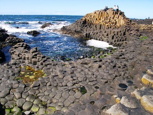 Giant's Causeway. Not 6000 years old.