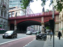 Holborn Viaduct, London - one of Haywood's more respectable projects