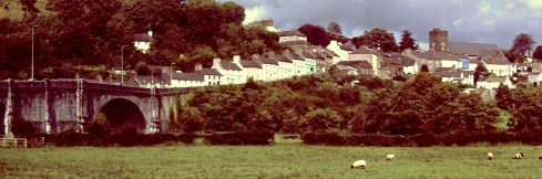 The Carmarthenshire town of Llandeilo. Photo: Ted Nield Snr.