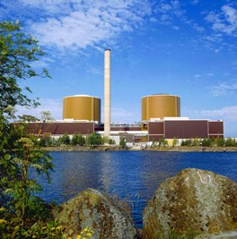 Loviisa nuclear power plant – home to Finland's nuclear repository. Photo courtesy www.fortum.com