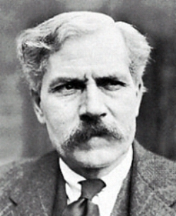 Ramsay MacDonald, looking a little puzzled. Perhaps he's asking himself why he joined the Geological Society...