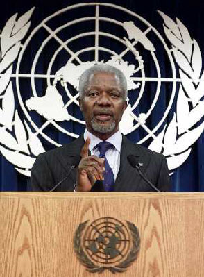 Kofi Annan: 'Let there be no mistake about the significance of this wonderful project'