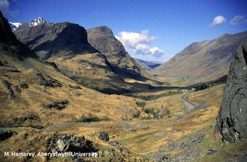Geological Society - By glaciers, Scotland