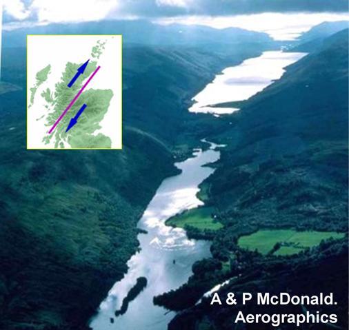 Geological Society - Strike-slip fault, Scotland