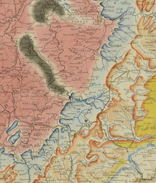 Geological Map Of India.The Geological Society