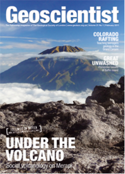Geoscientist front cover