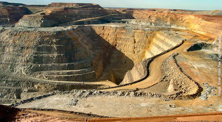 Kalgoorlie Superpit Gold Mine, Australia