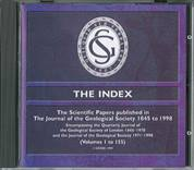 The Index: The Scientific Papers Published in the Journal of the Geological Society 1845 to 1998 (CD)
