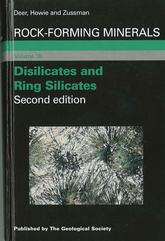 Disilicates and Ring Silicates RFM Volume 1B