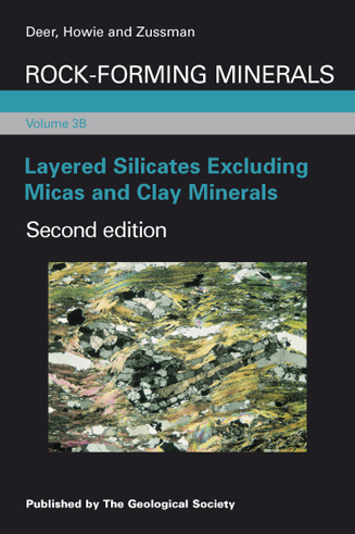Layered Silicates Excluding Micas and Clay Minerals - RFM Volume 3B