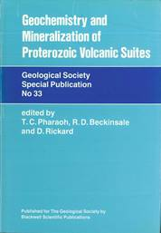 Geochemistry and Mineralization of Proterozoic Volcanic Suites