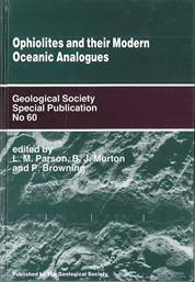 Ophiolites and Their Modern Oceanic Analogues
