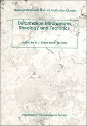 Deformation Mechanisms: Rheology and Tectonics (paperback)