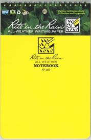 Universal Notebook, Top Spiral Bound, No. 169, 15x23cm (yellow)