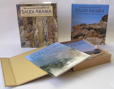 Geologic Evolution of Saudi Arabia display