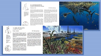 Trilobites, Dinosaurs and Mammoths sample pages