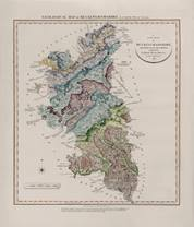 Geological Map of Buckinghamshire, 1820