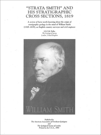 William Smith Cross-sections wallchart booklet cover