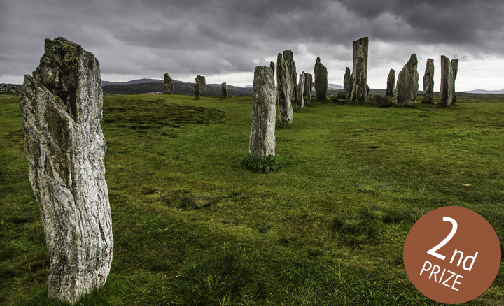 September: Callanish Stones, Lewis, Outer Hebrides - Brent Bouwsema: 2nd Prize