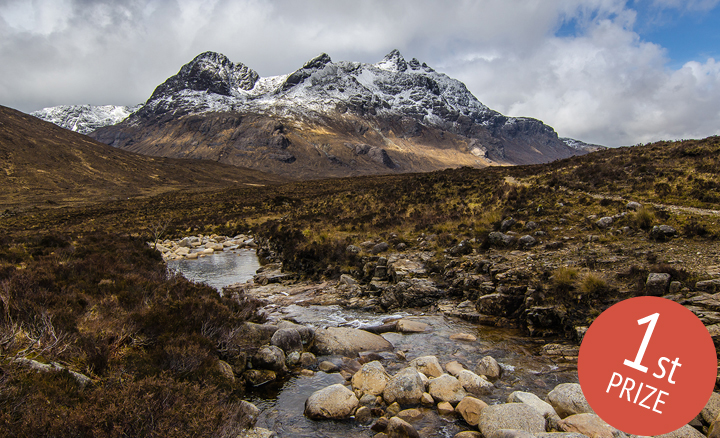 February: The Cuillin Hills, Isle of Skye, Scotland - Gijs de Reijke: 1st Prize