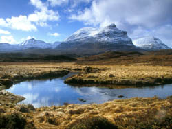 Quinag in Winter