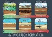 poster on hydrocarbon formation