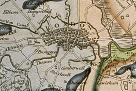 London on Smith's Map