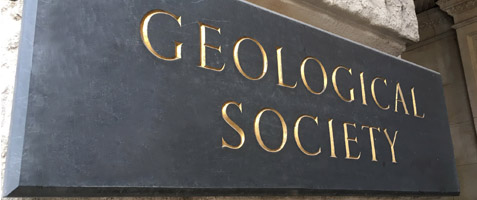 Geological Society sign