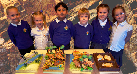 Students of Roman Way First School_Geobakeoff entry