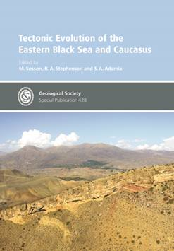 TECTONIC EVOLUTION OF THE EASTERN BLACK SEA AND CAUCASUS sosson
