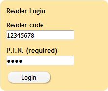 GSL Library Reader Logins