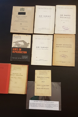 Wartime pamphlets from the Society's archive