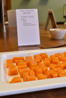 Delicious carrot fudge!
