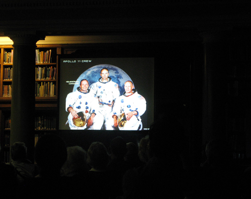 The event started with a journey through the history of Apollo lunar missons