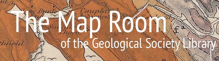 The Map Room of the Geological Society Library
