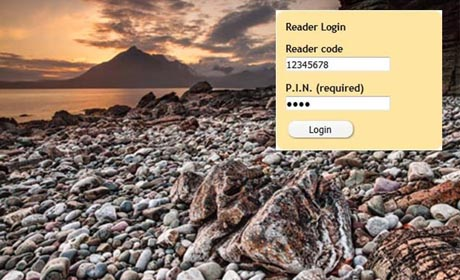 GSL Library Catalogue Reader Logins
