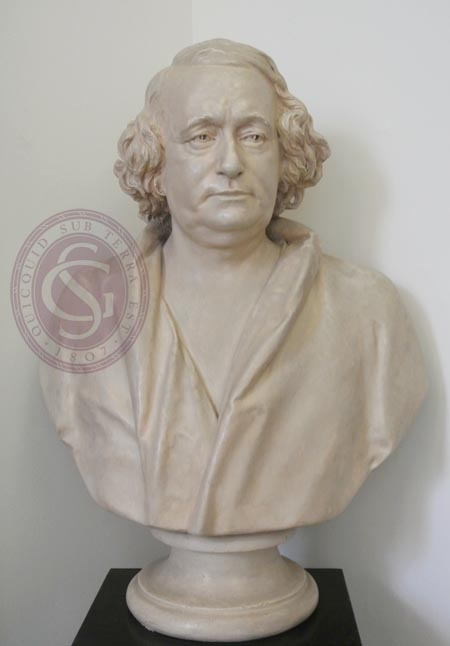 Hugh Falconer bust
