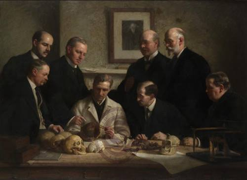 Discussion on the Piltdown Skull