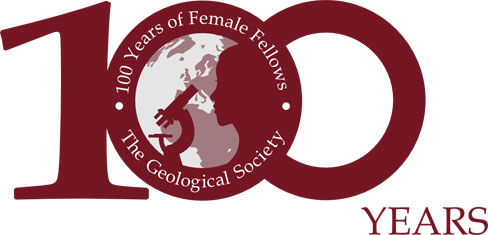 100 years of female fellows logo